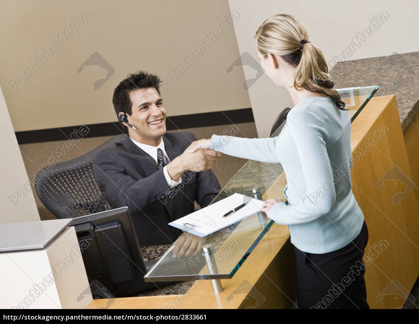 businesswoman, and, receptionist - 2833661