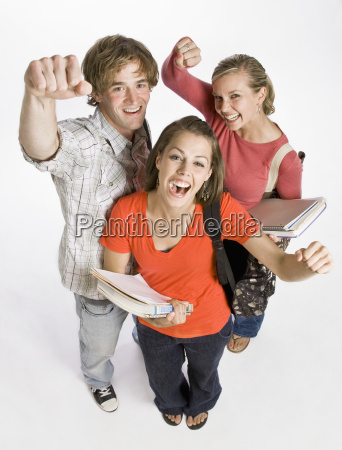 student, friends, cheering - 2835707