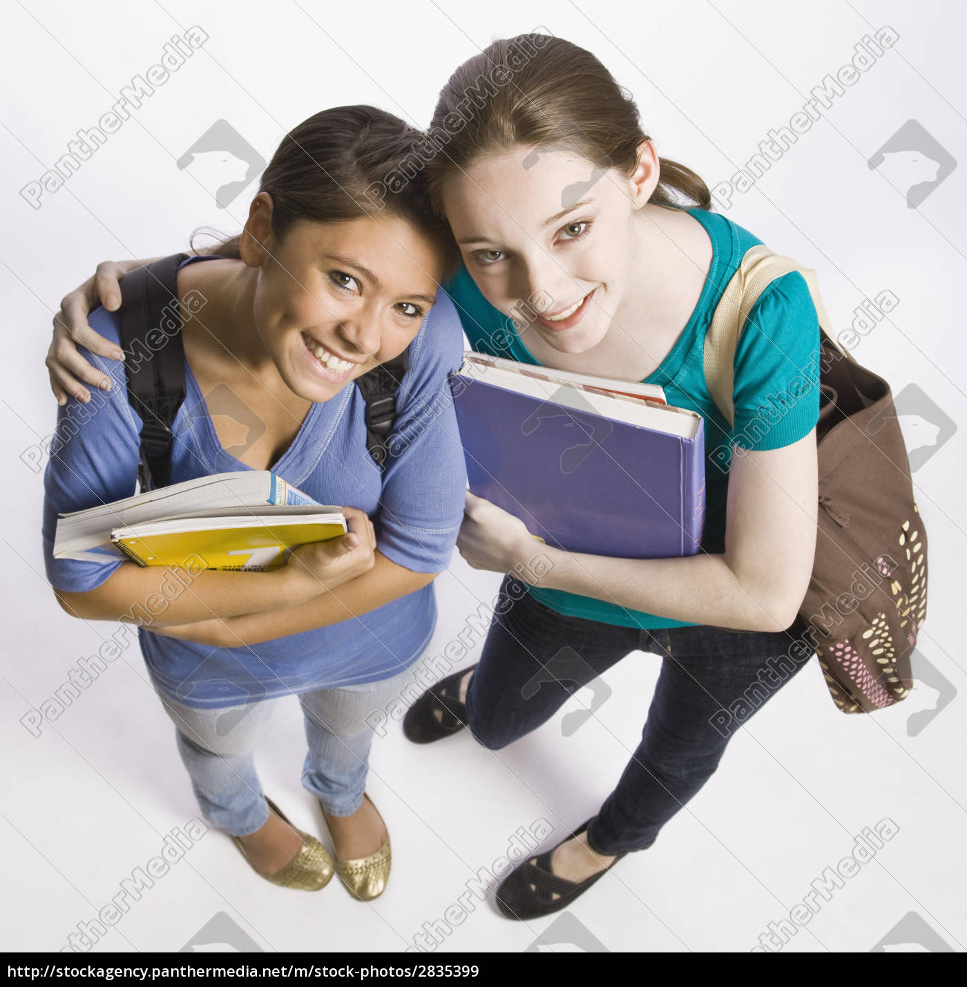 students, carrying, book, bag, , backpack, and - 2835399