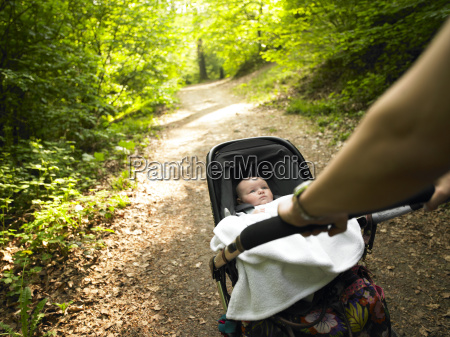 parent, and, baby, taking, a, walk - 2838335