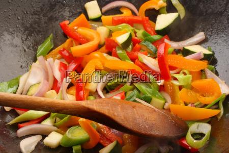 vegetable, stir, fry - 2845127