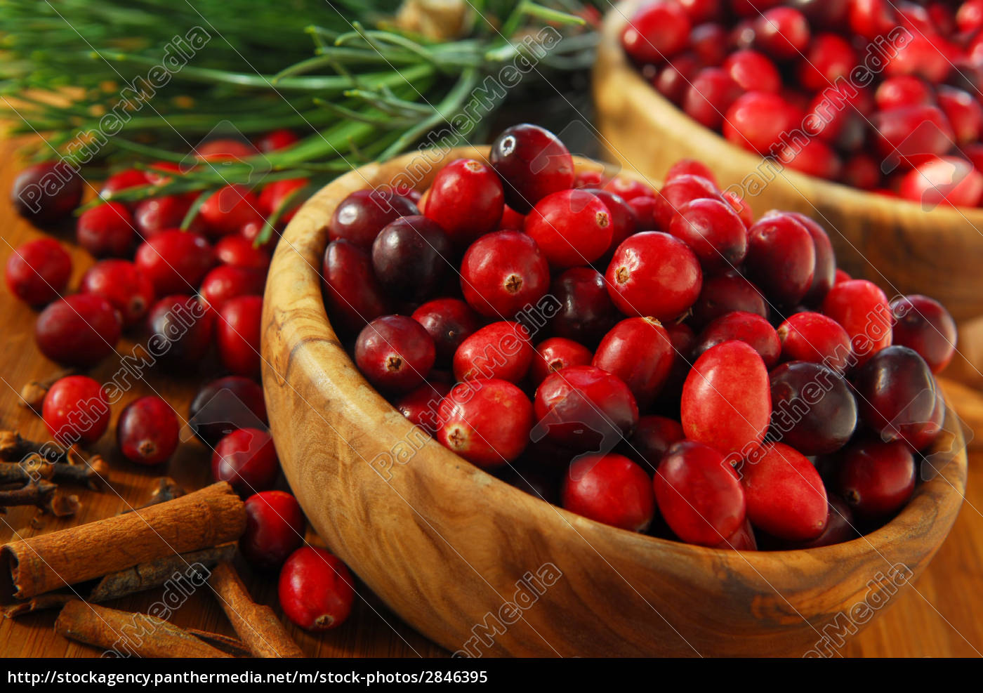 cranberries, in, bowls - 2846395