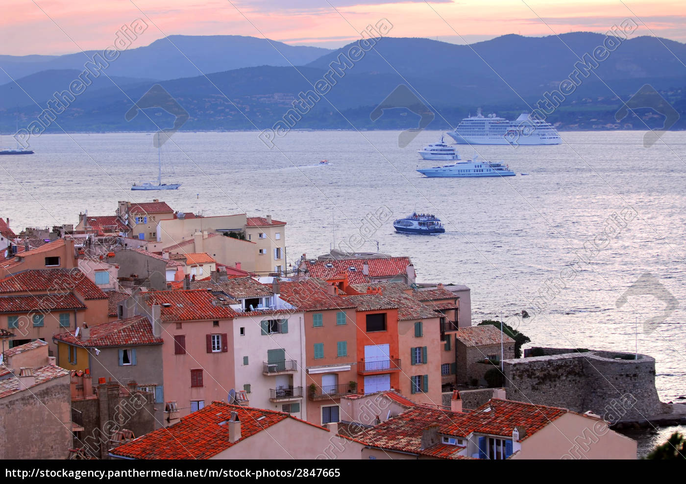 st.tropez, at, sunset - 2847665