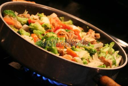 food, aliment, health, green, steam, kitchen - 2848783