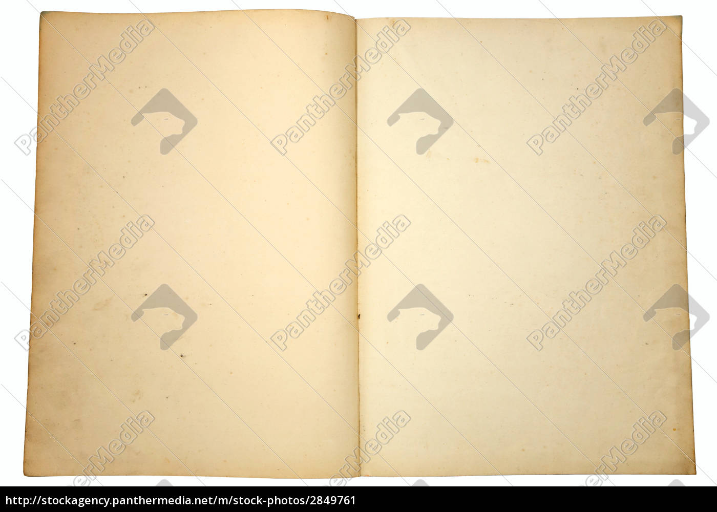 blank, yellowing, paper, pages, from, a - 2849761