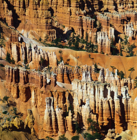 hoodoos, in, queens, garden, bryce, canyon, utah, usa - 2855103