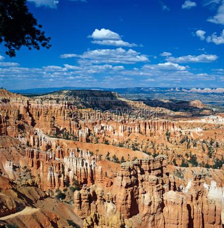 hoodoos, in, queens, garden, bryce, canyon, utah, usa - 2855123