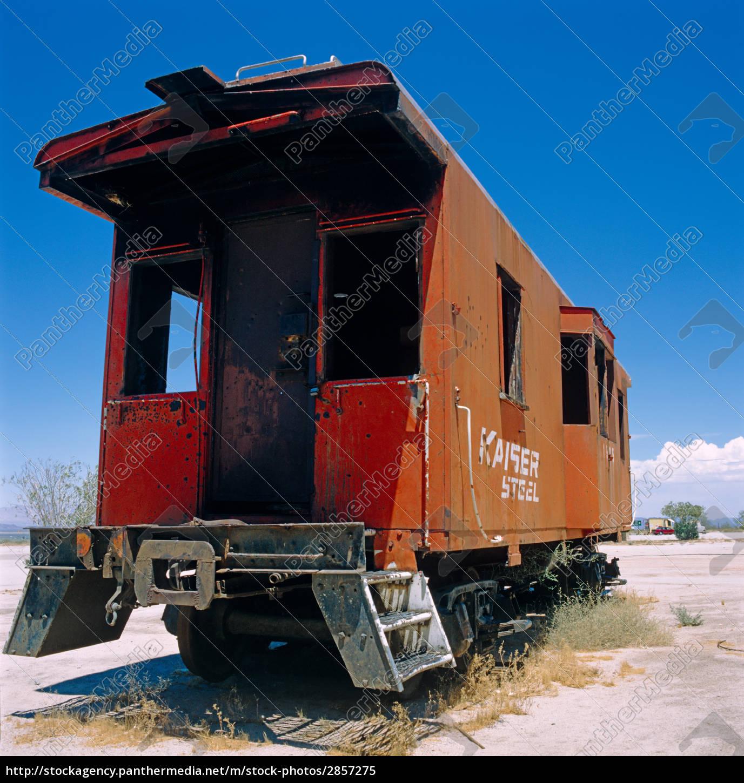 railroad, wagon, arizona, usa - 2857275