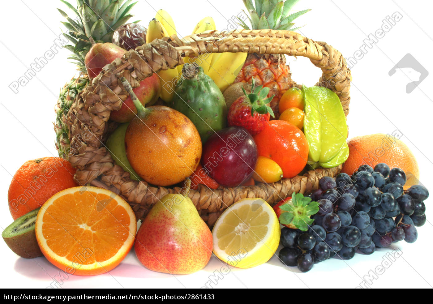 fruit, mix, in, the, basket - 2861433