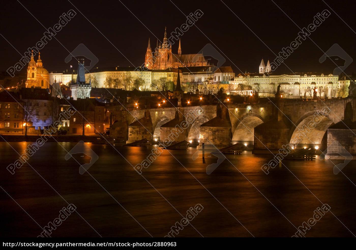 charles, bridge, and, prague, castle - 2880963