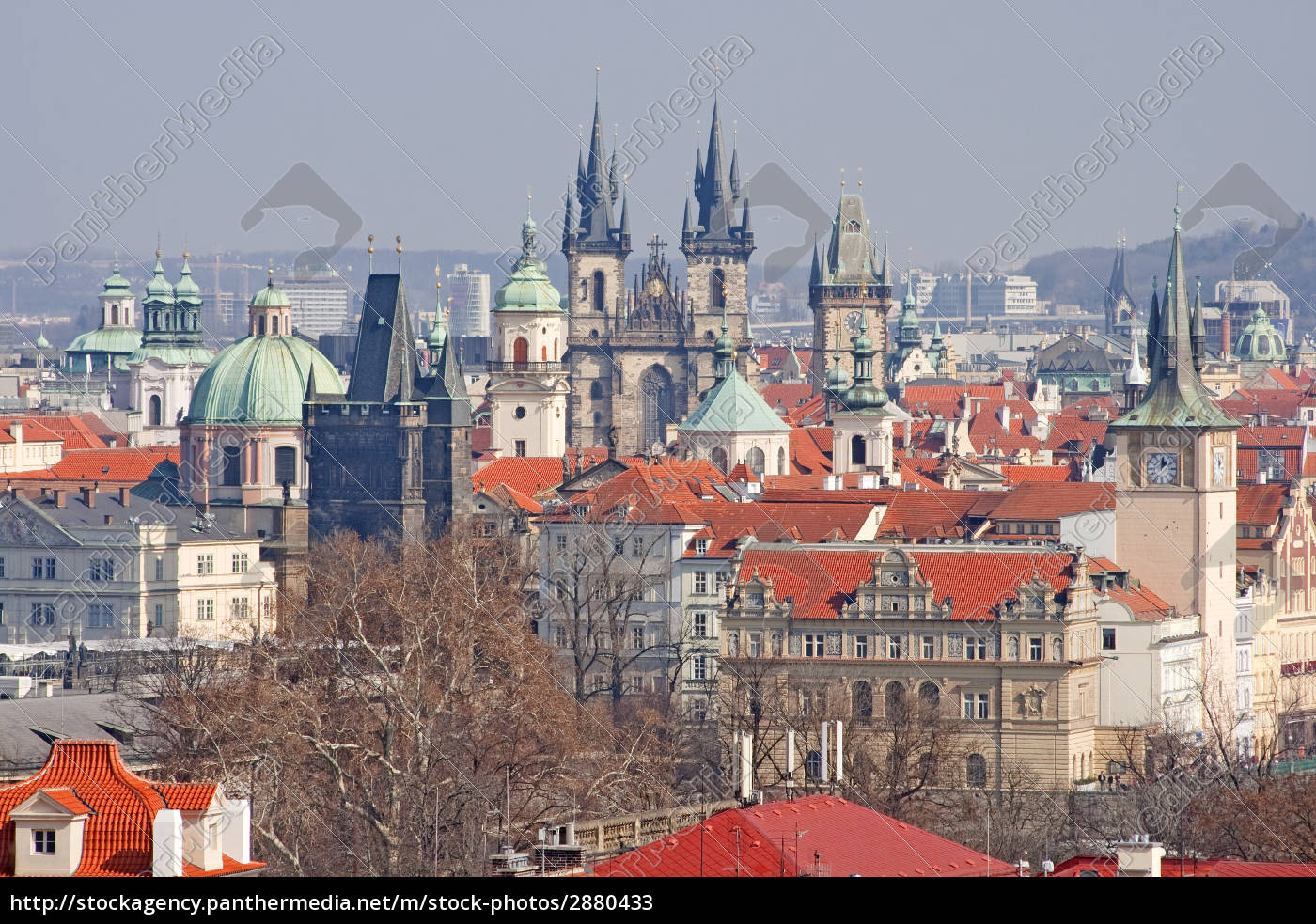 towers, and, churches, of, prague - 2880433