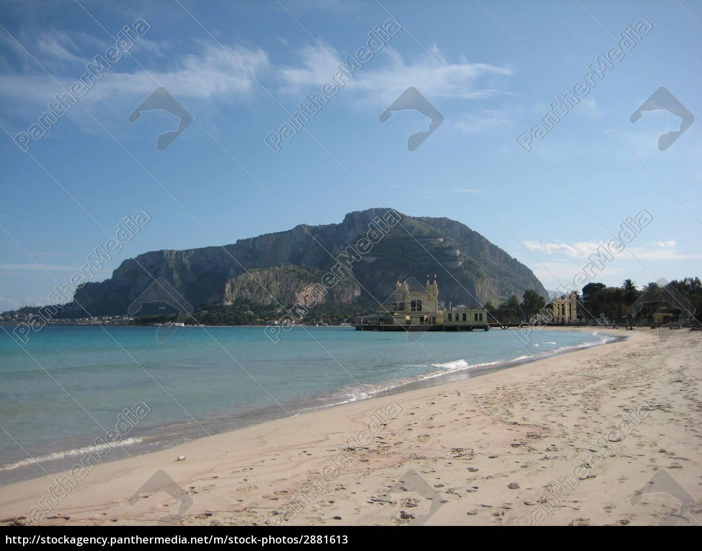 mondello, beach, on, sicily - 2881613