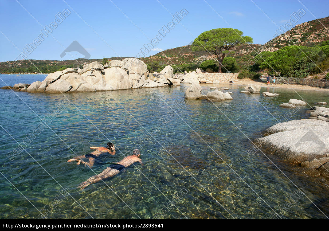 palombaggia, small, beach, in, southern, corsica - 2898541