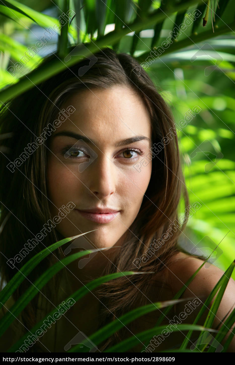 portrait, of, a, young, woman, surrounded - 2898609