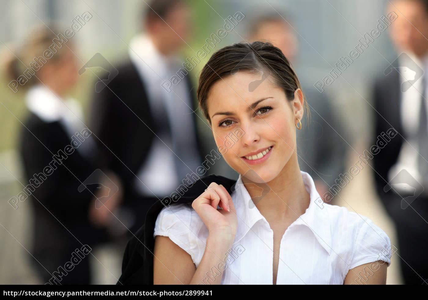 portrait, of, smiling, woman, face - 2899941