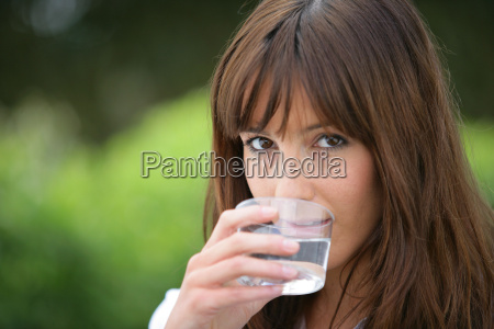 portrait, of, a, woman, drinking, a - 2900165