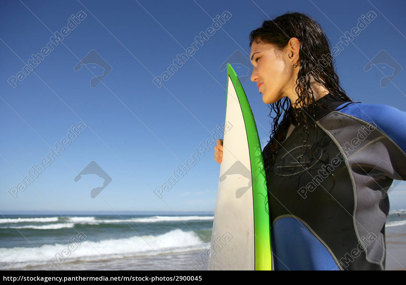 woman, profile, sport, sports, beach, seaside - 2900045