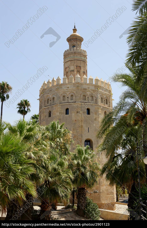 torre, de, oro, -, seville, spain - 2901123