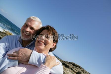 portrait, of, a, senior, couple, smiling - 2902725