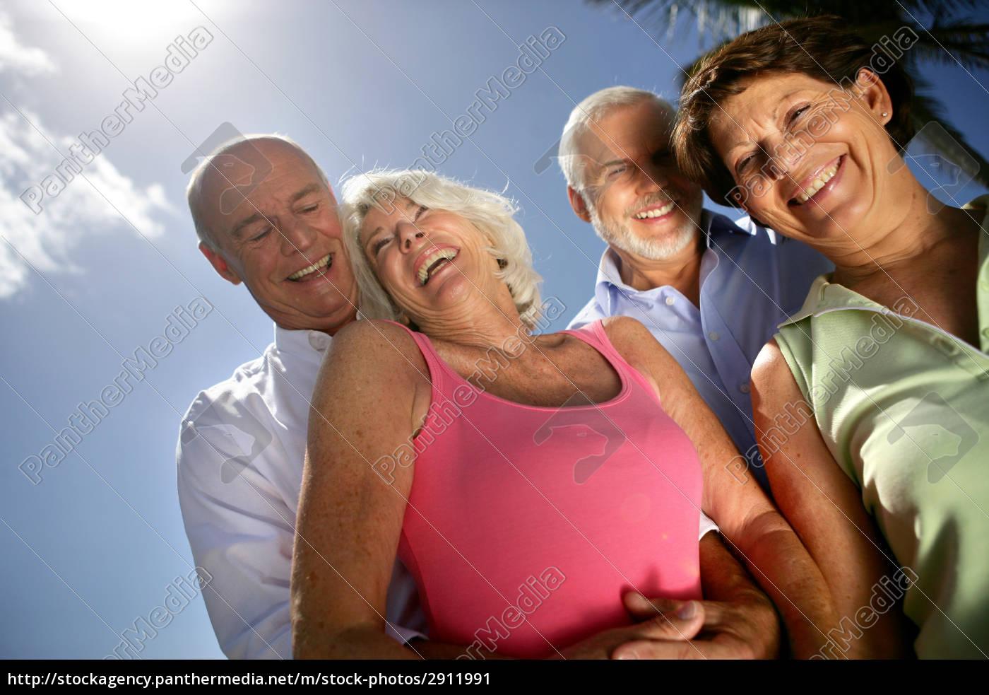 group, of, seniors, smiling - 2911991