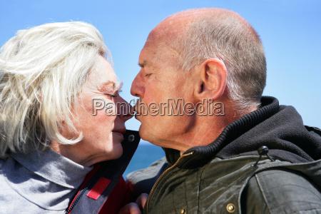 senior, couple, at, sea - 2911749