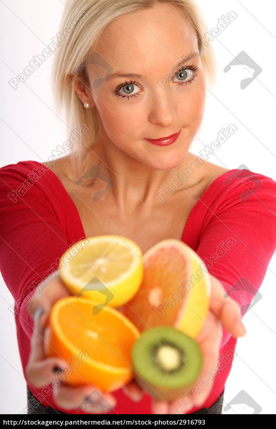 woman, with, fruit - 2916793