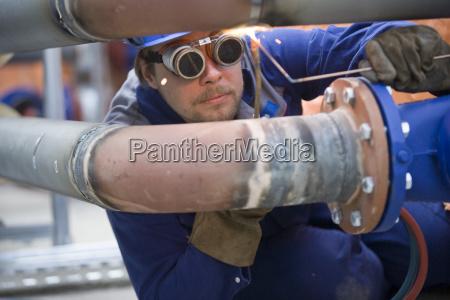 repair of a pipeline