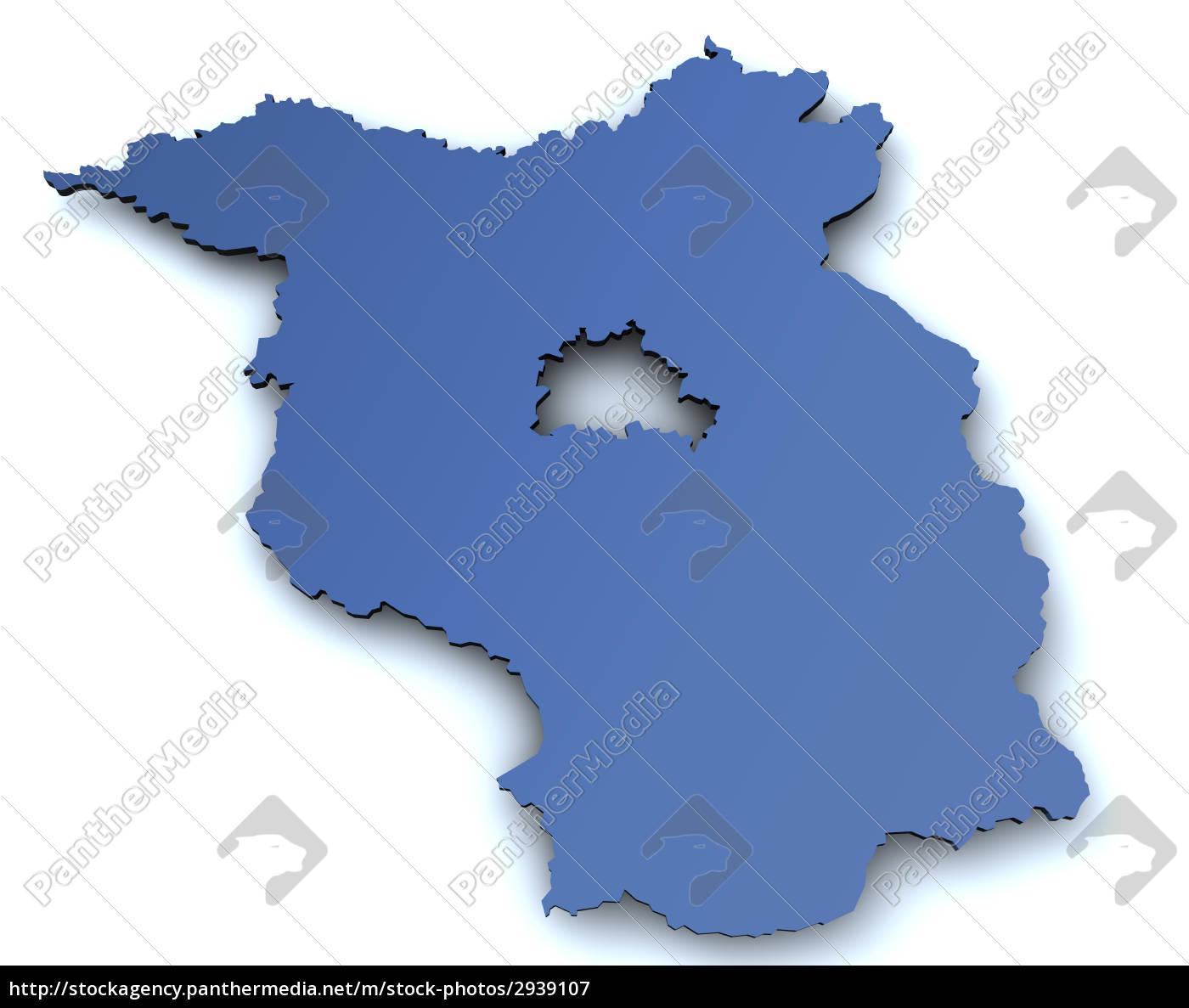 map, of, brandenburg - 2939107