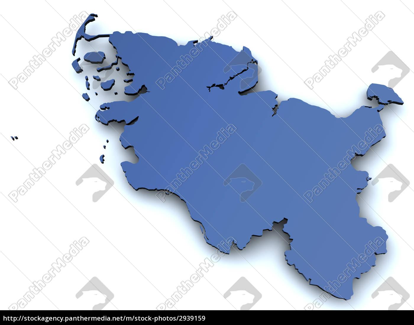 map, of, schleswig, holstein - 2939159