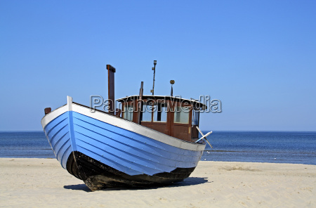 blue, boat - 2977297