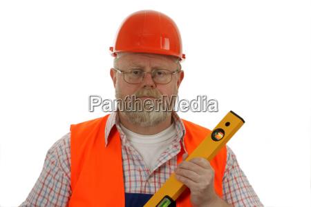craftsman tradesman handicraftsman spirit level skilled