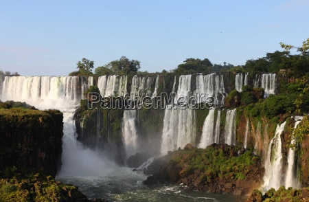 waterfall, wet, tropical, water, fall, iguasu - 2981771