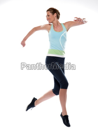 woman, running - 2982689