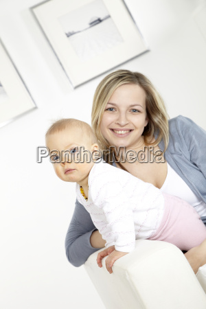 young, mother, with, baby, on, a - 2982723