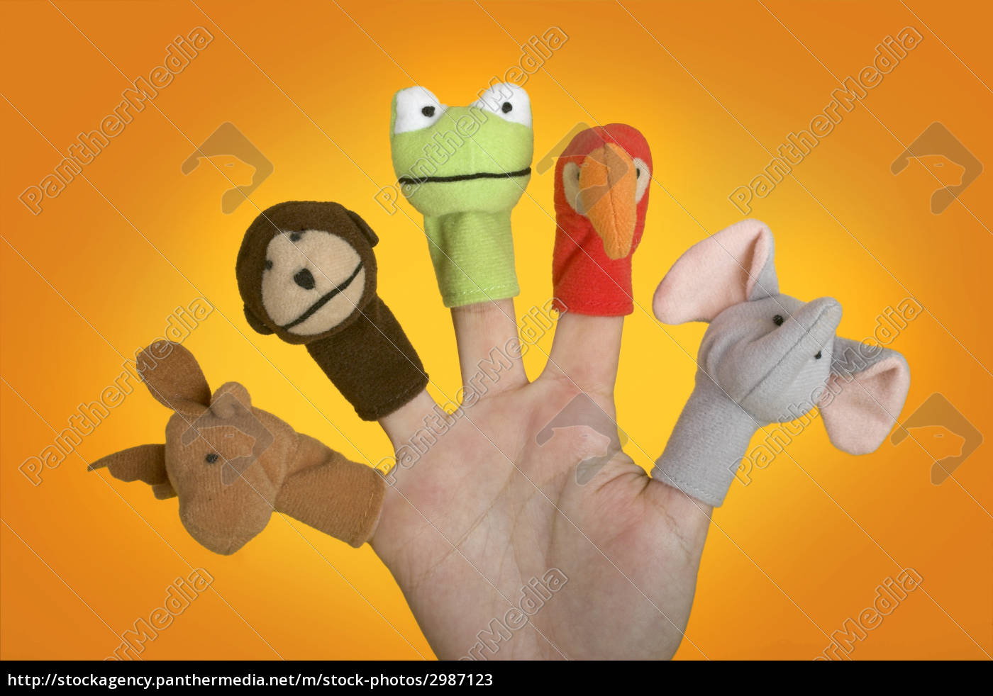 hand, with, puppets - 2987123