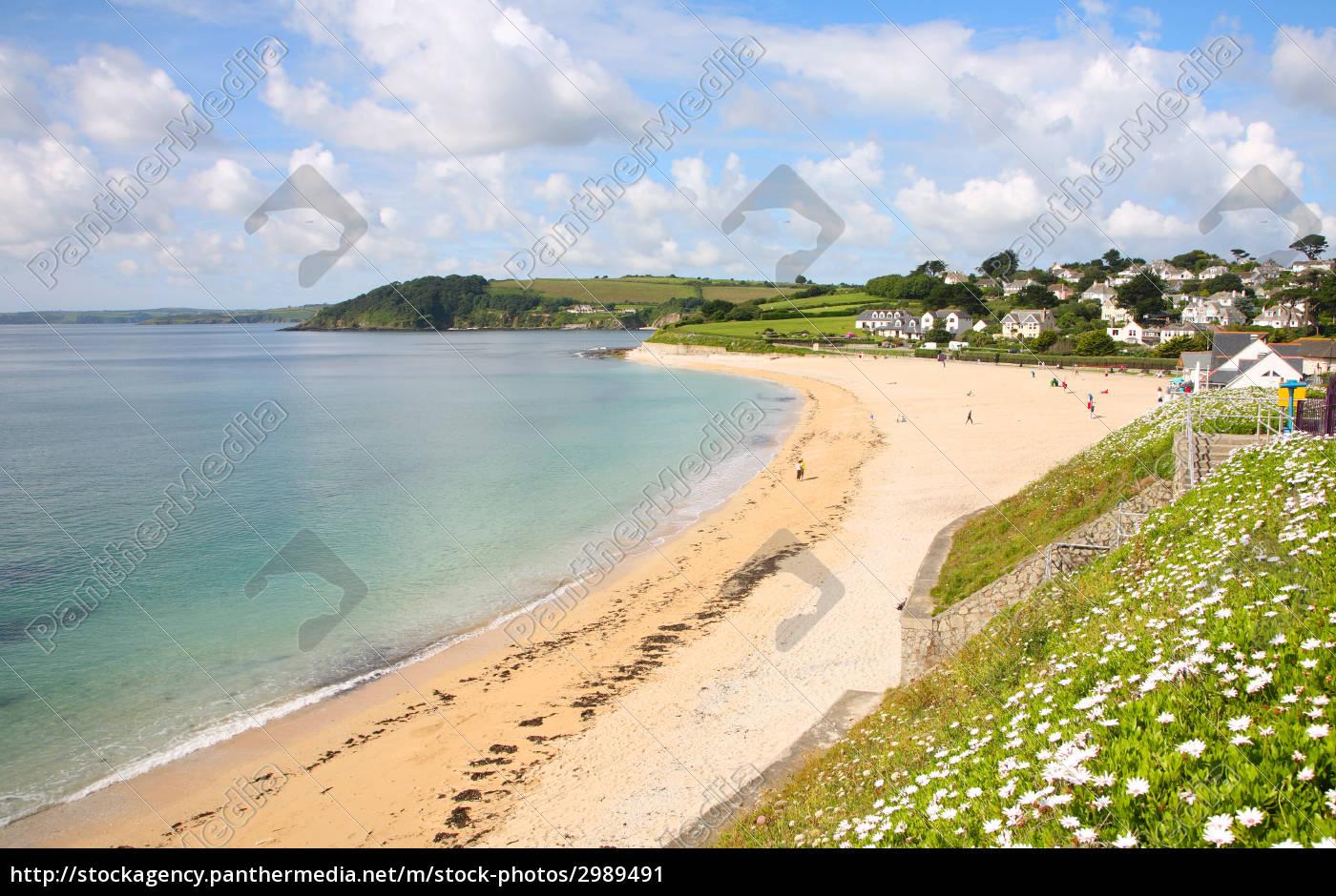 gyllyngvase, beach, in, the, summer, , falmouth, - 2989491