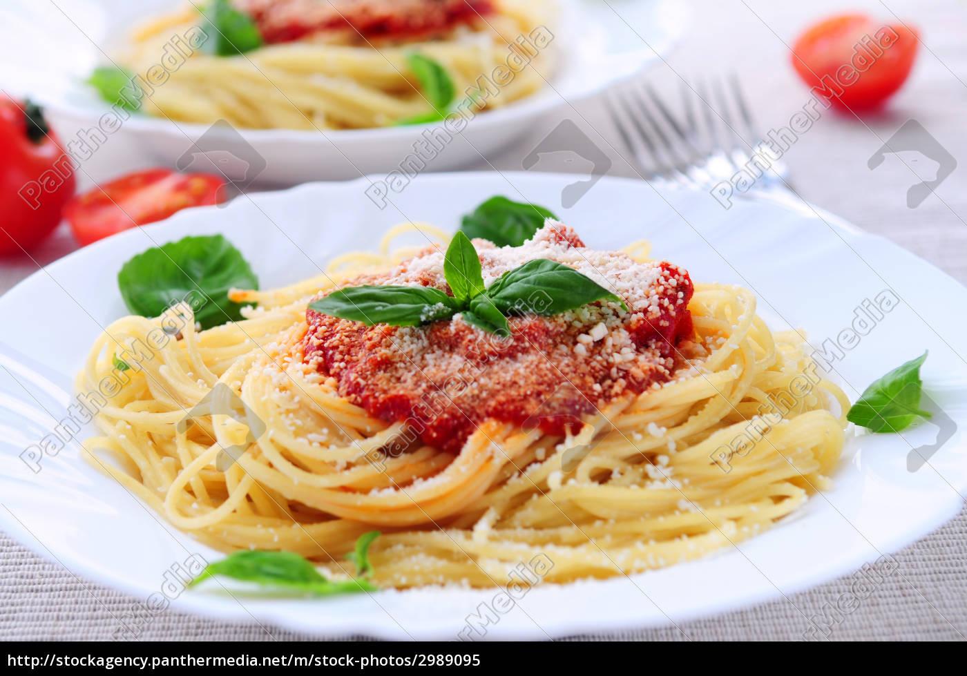 pasta, and, tomato, sauce - 2989095
