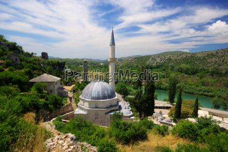 pocitelj, mosque, -, pocitelj, mosque, 04 - 2993883