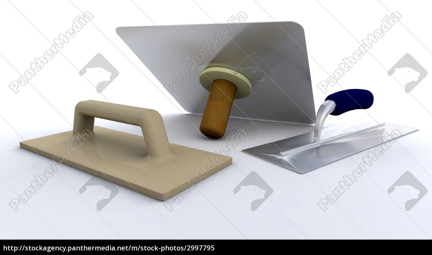 plasterers, tools - 2997795