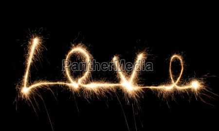 love, sparkler - 2998549