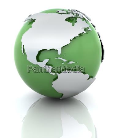 green, globe - 3000247