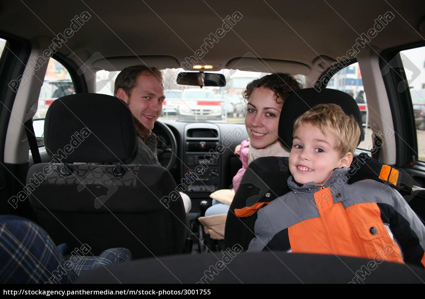 family, in, car - 3001755