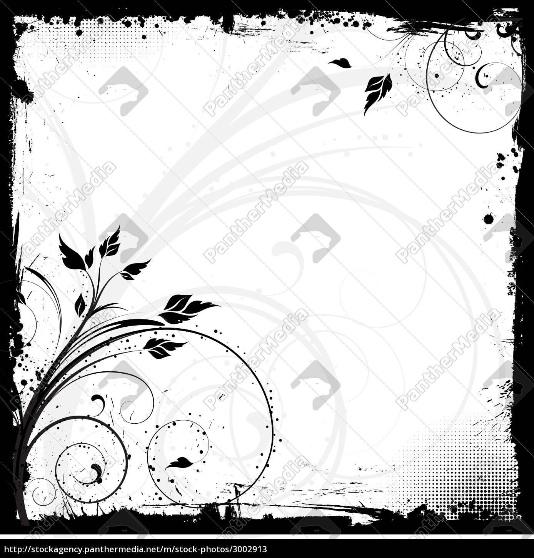 floral, grunge - 3002913