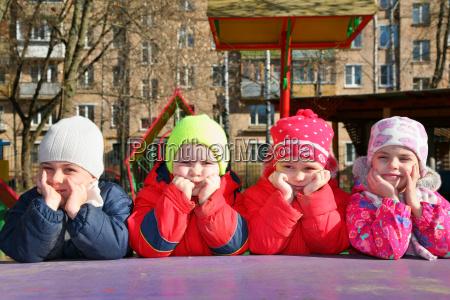 bored, team, in, kindergarten - 3003933