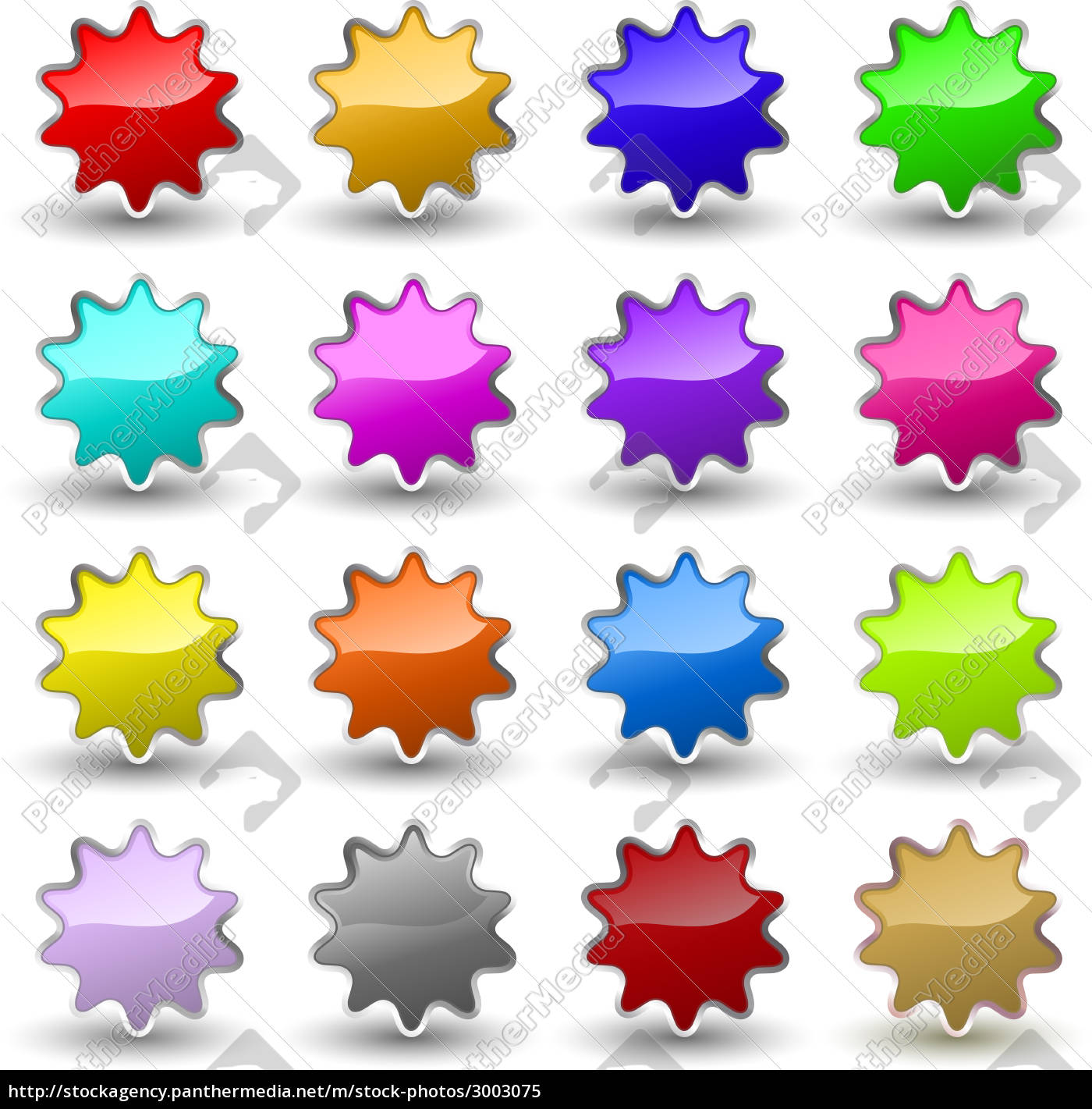 glossy, star, icons - 3003075