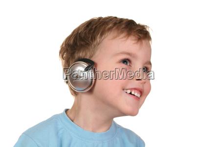 happy, boy, with, headphones - 3003253