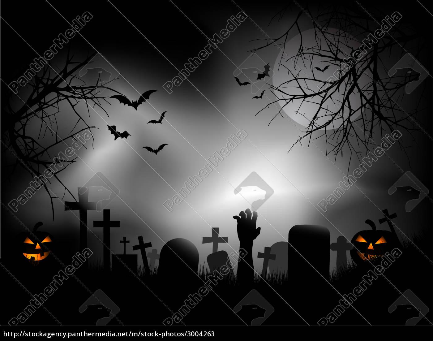 spooky, graveyard - 3004263