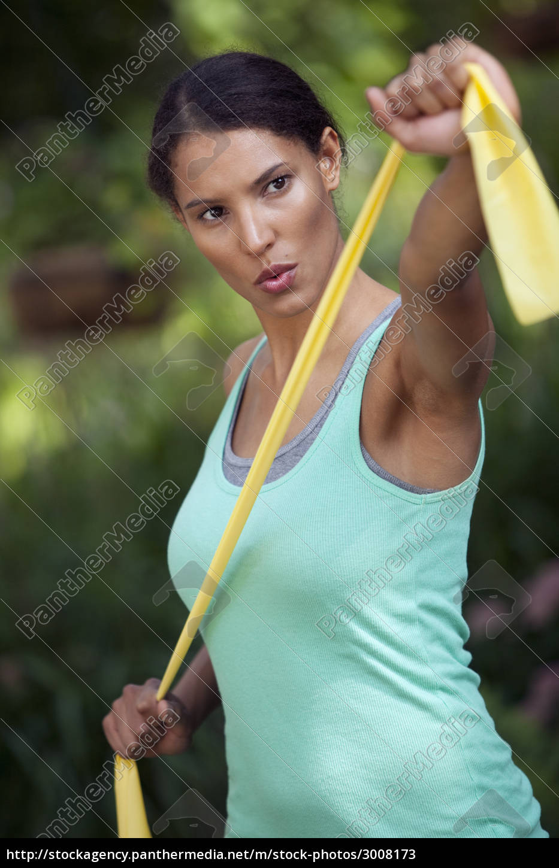 young, woman, exercising - 3008173