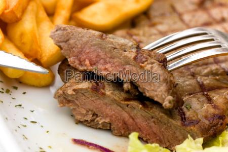 rump, steak, roast, beef, with, green - 3021060