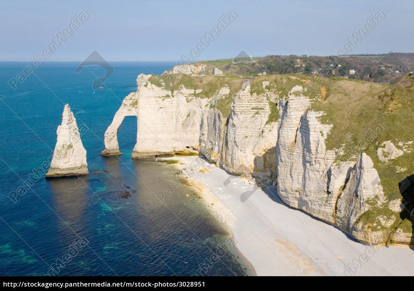 cliffs, at, etretat - 3028951